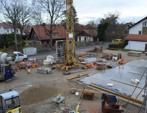 Baufortschritt Dezember 2015