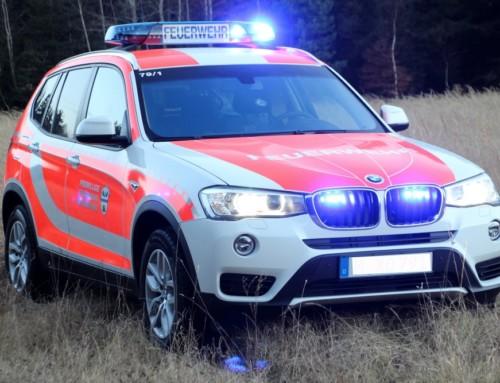 Neues First-Responder Fahrzeug in Dienst gestellt