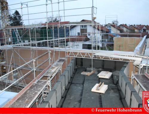 Baufortschritt Februar 2016 – 1