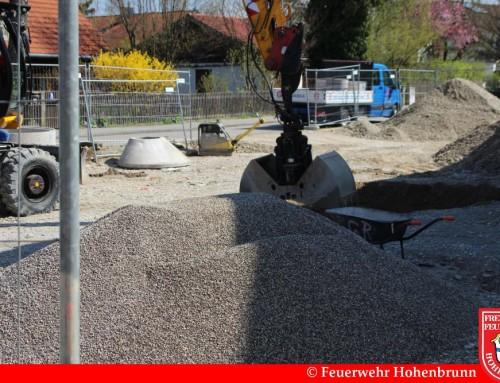 Baufortschritt April/Mai 2016