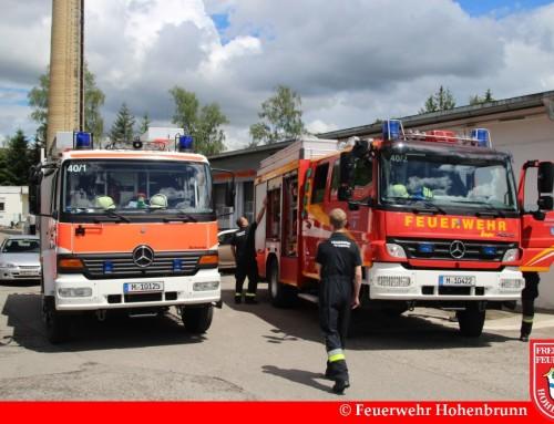 Feuerwehr Hohenbrunn beim Riemerling-West Fest