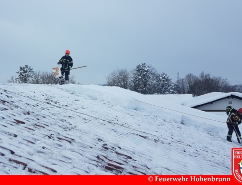 Überörtliche Hilfe bei großen Schneemassen