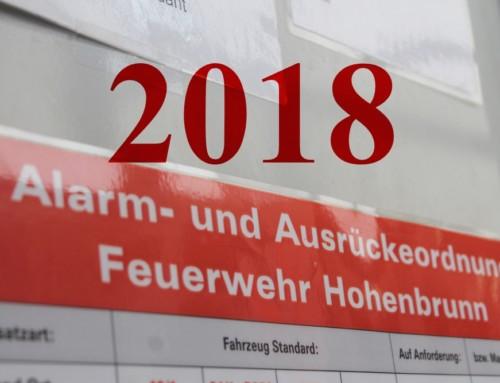 Generalversammlung der FFW Hohenbrunn: 2018 – Ein Jahr im Zeichen von Veränderungen